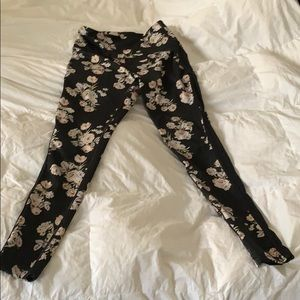 Free People Movement Floral Leggings S Small